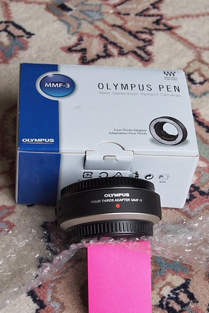 Olympus MMF-3 sold separately from camera